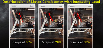 Deterioration of Motor Consistency with Increasing Load