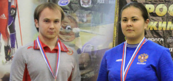 Yulia Chistyakova won a gold medal and Yan Urusov set a Russian National Bench Press Record