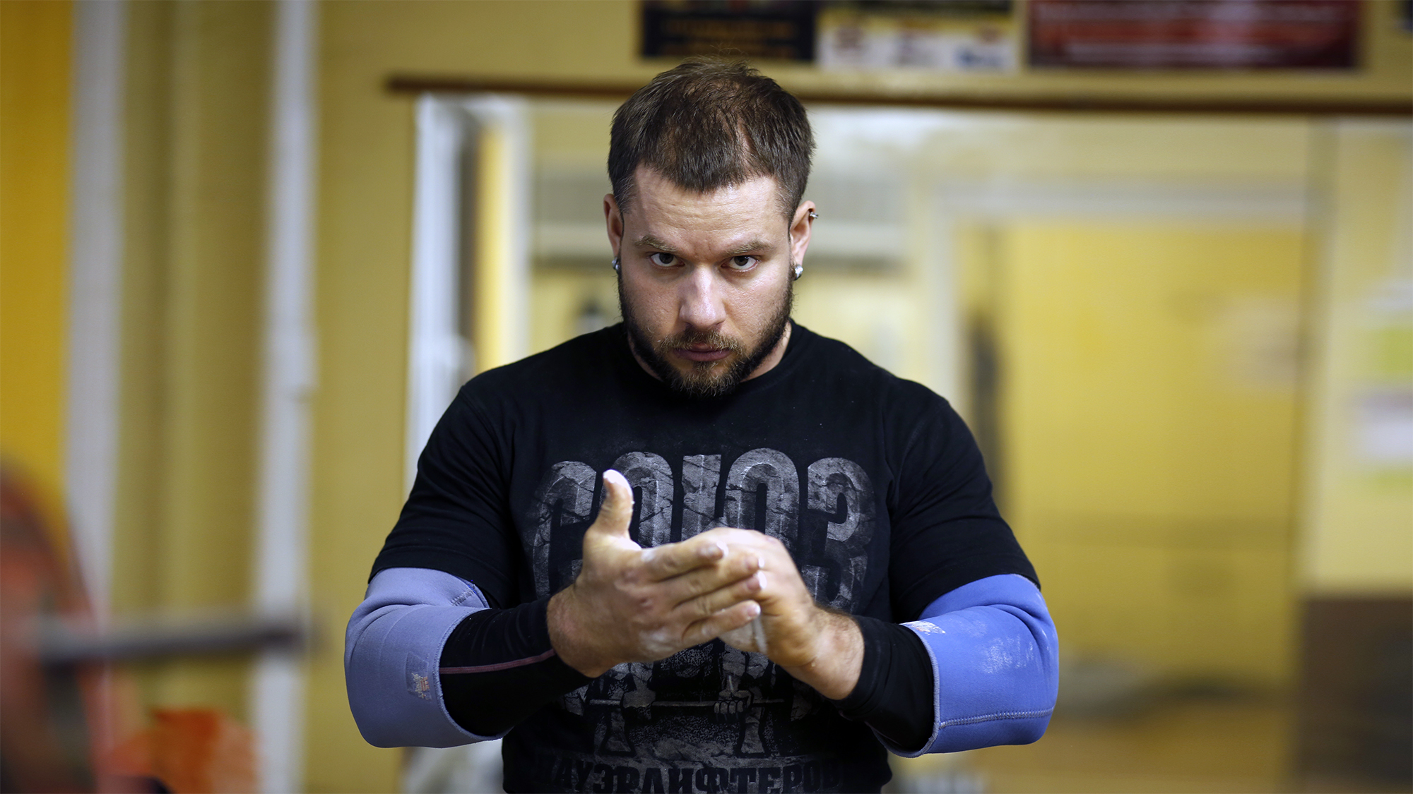 Aleksey Nikulin's workout
