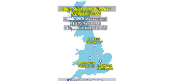 Boris Sheiko UK Tour 2016 (Droitwich, Leeds, London), February 26-28
